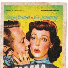 Cine: MAMA ES MI RIVAL - LORETTA YOUNG - VAN JOHNSON. Lote 194312771