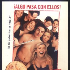 Cine: P-8606- AMERICAN PIE (DOBLE) JASON BIGGS - CHRIS KLEIN - THOMAS IAN NICHOLAS. Lote 194315967