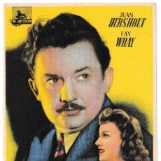 Cine: MELODÍA PARA TRES - JEAN HERSHOLT - FAY WRAY. Lote 194317375