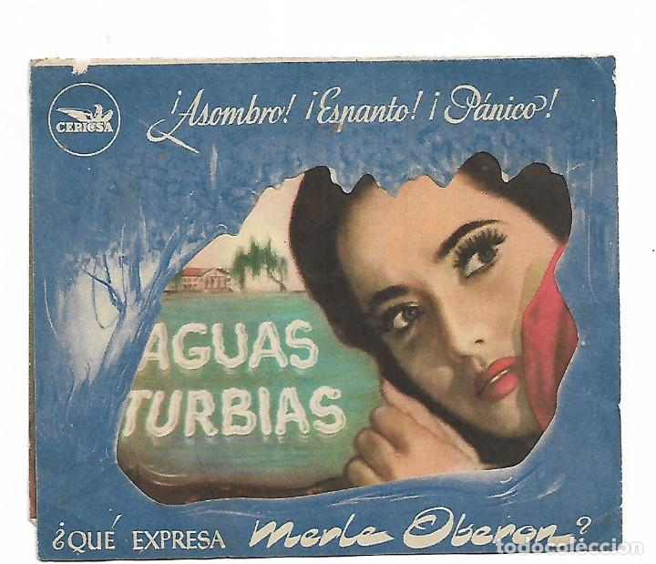AGUAS TURBIAS (Cine - Folletos de Mano - Drama)