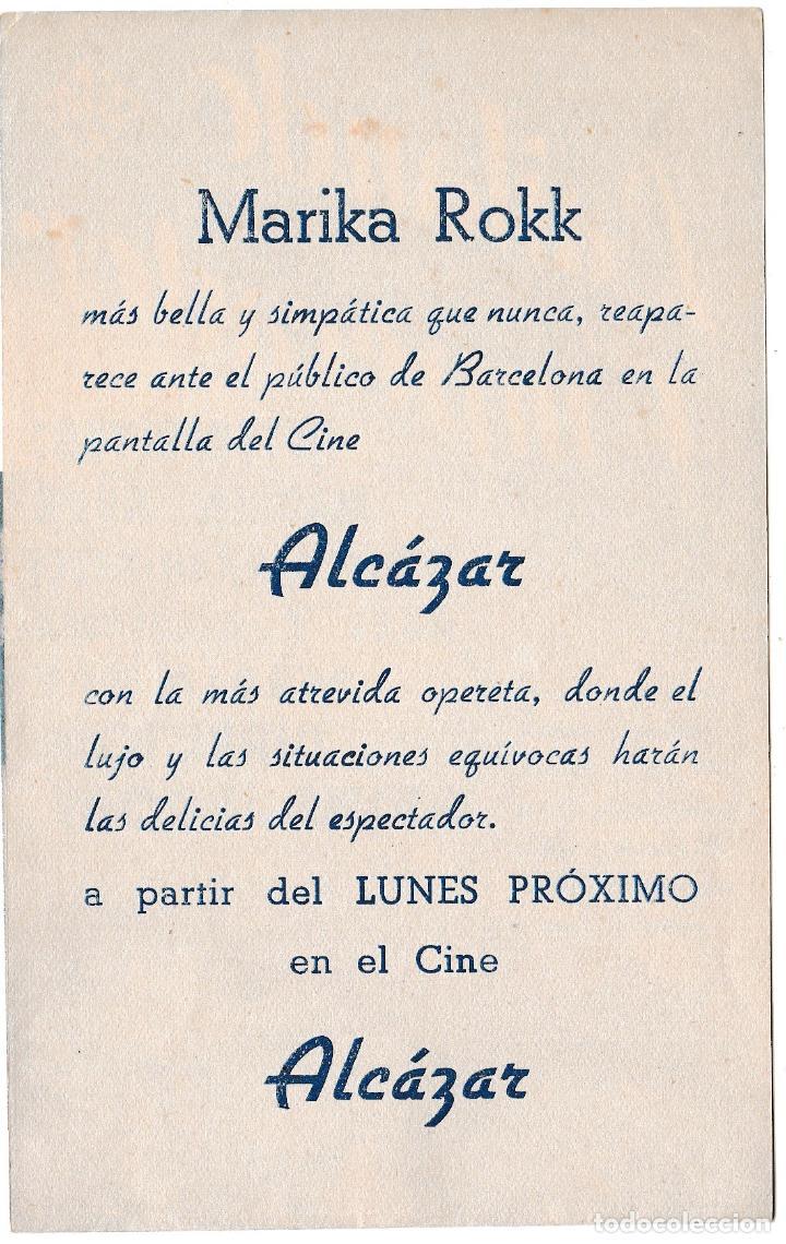Cine: BAILANDO CON EL EMPERADOR - CINE ALCÁZAR - Foto 2 - 194372965