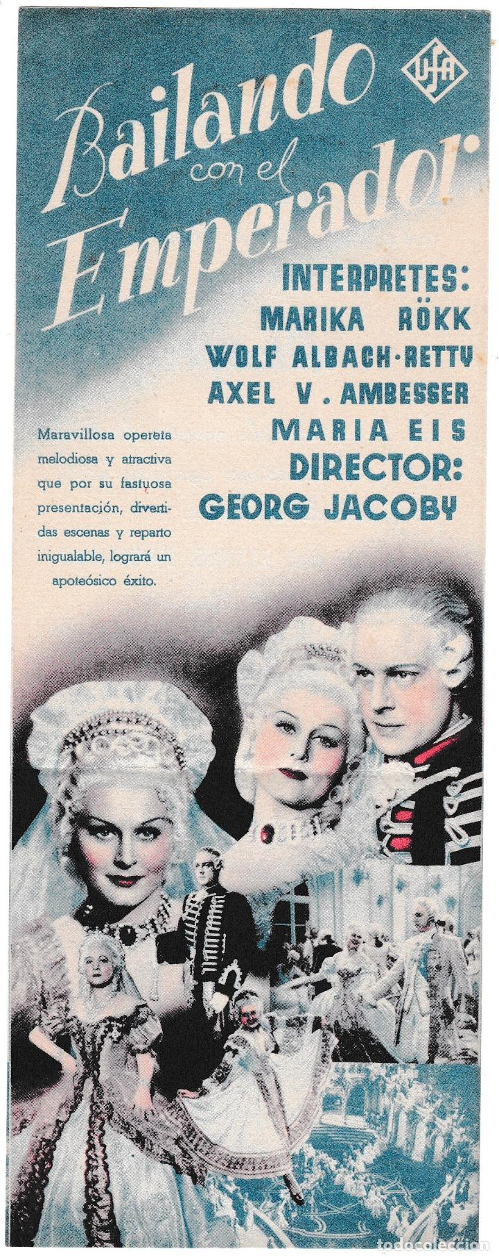 Cine: BAILANDO CON EL EMPERADOR - CINE ALCÁZAR - Foto 3 - 194372965