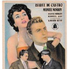 Cine: MERCADO PROHIBIDO - ISABEL DE CASTRO - MANUEL MONROY. Lote 194373195