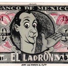 Cine: EL LADRÓN - LUIS SANDRINI - ELSA AGUIRRE - CINES MISTRAL Y BARCELONA. Lote 194373790