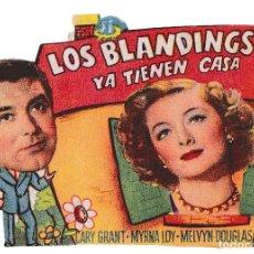 Cine: LOS BLANDINGS YA TIENEN CASA - MYRNA LOY - CARY GRANT. Lote 194373993