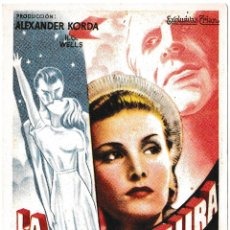 Cine: LA VIDA FUTURA - PEARL ARGILE - RAYMOND MASSEY. Lote 194381525