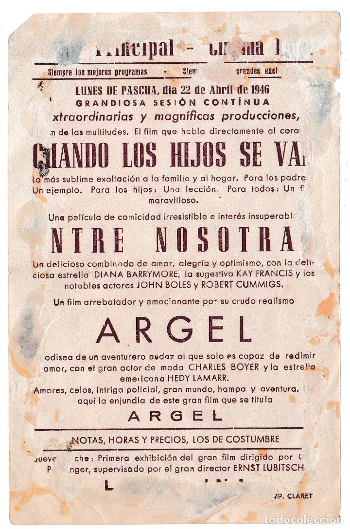 Cine: CHARLES BOYER - CINE PRINCIPAL 1946 - Foto 2 - 194383377