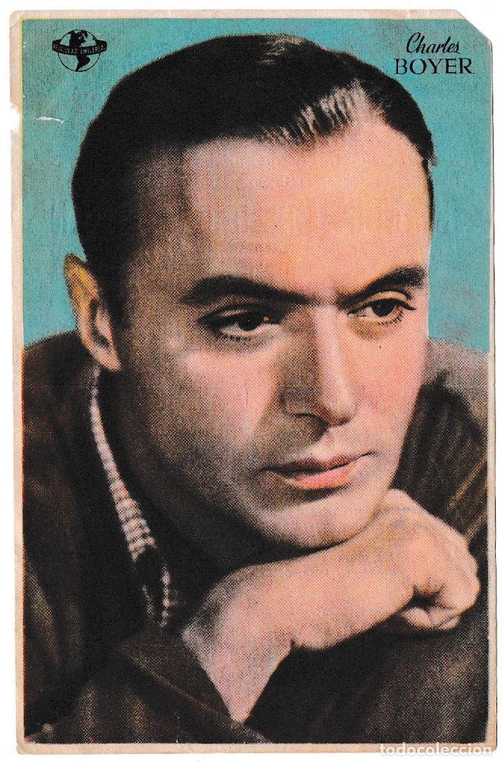 CHARLES BOYER - CINE PRINCIPAL 1946 (Cine - Folletos de Mano - Drama)
