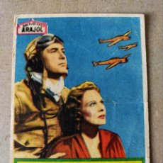 Cine: PROGRAMA DE CINE: ESCUADRILLA DEL PACIFICO CON R. MILLAND, W. BARRIE - ORIGINAL SIN PUBLICIDAD.. Lote 194390360