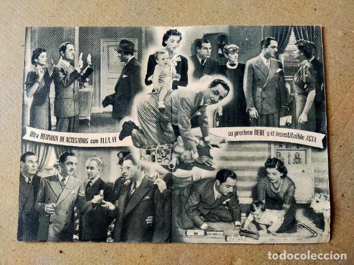Cine: PROGRAMA DE CINE: OTRA REUNION DE ACUSADOS. VIRGINIA GREY - DOBLE ORIGINAL SIN PUBLICIDAD - Foto 2 - 194392382