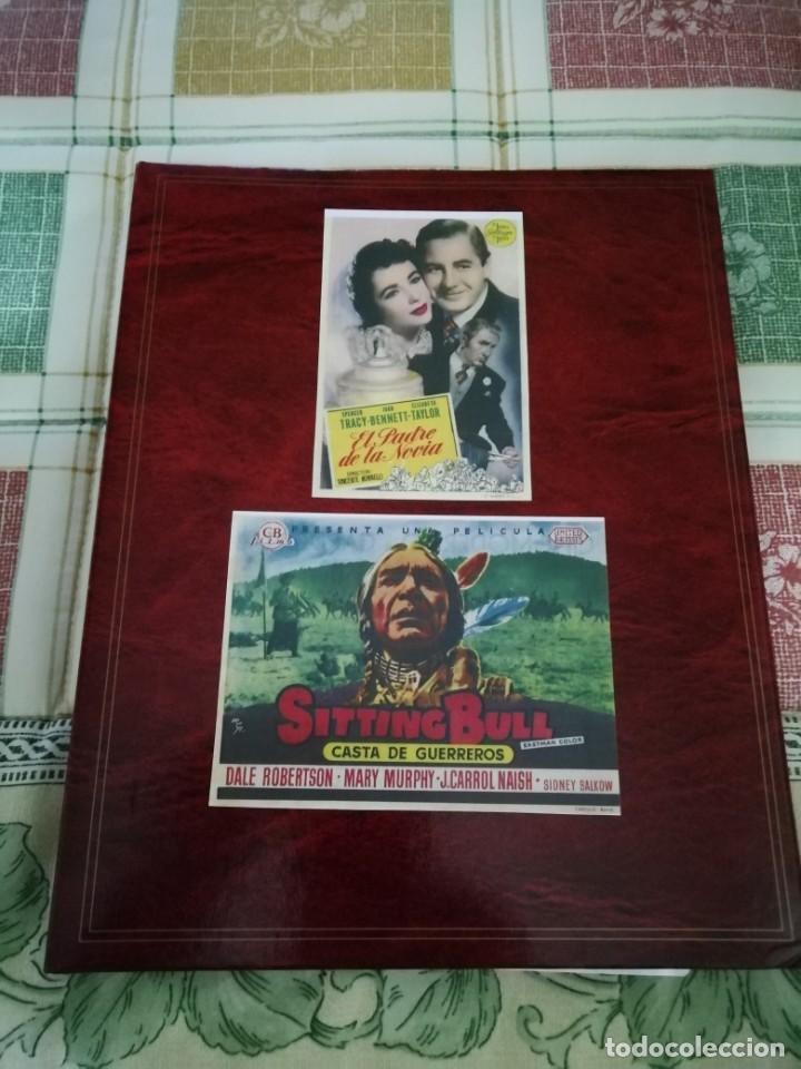 ALBUM CON 235 FOLLETOS DE MANO (VER DESCRIPCION) (Cine - Folletos de Mano - Comedia)
