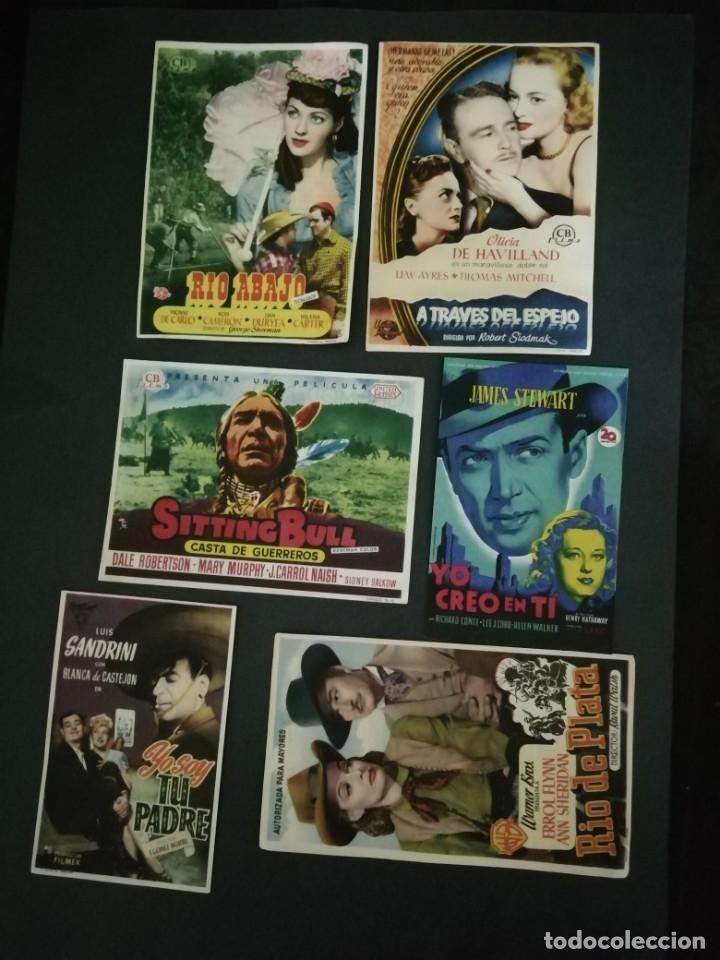 Cine: ALBUM CON 235 FOLLETOS DE MANO (VER DESCRIPCION) - Foto 28 - 194523043