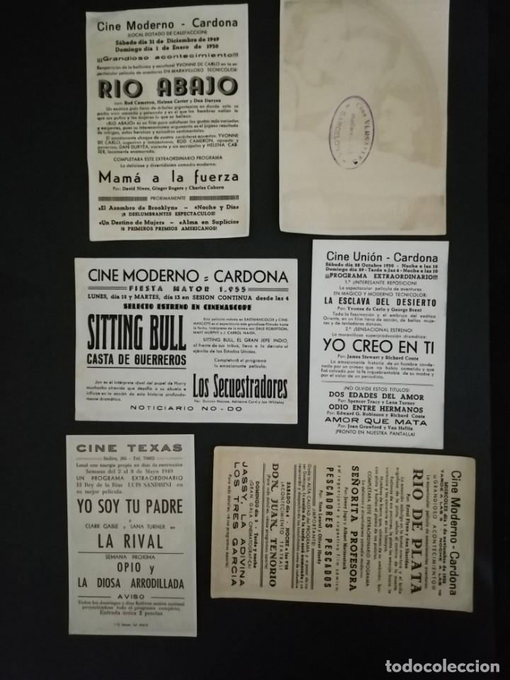 Cine: ALBUM CON 235 FOLLETOS DE MANO (VER DESCRIPCION) - Foto 29 - 194523043