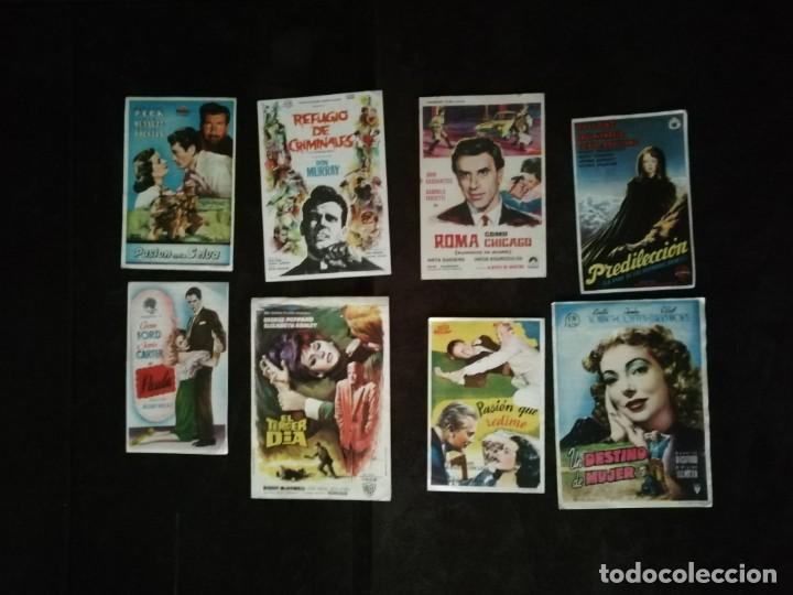 Cine: ALBUM CON 235 FOLLETOS DE MANO (VER DESCRIPCION) - Foto 32 - 194523043