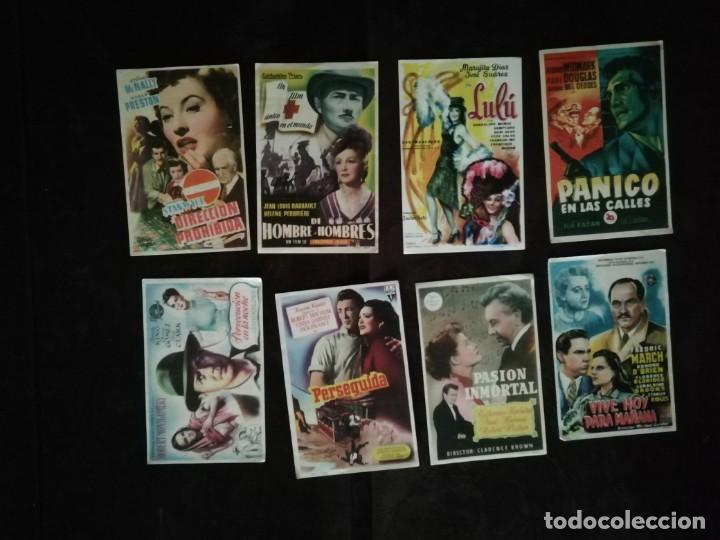 Cine: ALBUM CON 235 FOLLETOS DE MANO (VER DESCRIPCION) - Foto 44 - 194523043