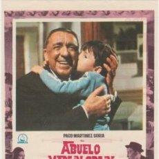Cine: ABUELO MADE IN SPAIN (CON PUBLICIDAD). Lote 194530803