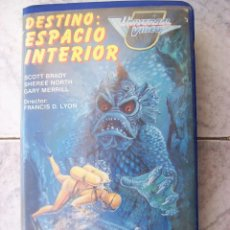 Cine: DESTINO ESPACIO INTERIOR VHS . Lote 194532880