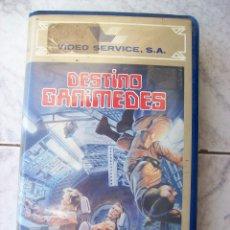 Cine: DESTINO GANIMEDES VHS. Lote 194533531