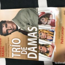 Cine: CD: TRÍO DE DAMAS (FRANCISCO RABAL). Lote 194534557