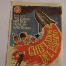 Cine: PROGRAMA DE CINE CHIFLADOS DEL ESPACIO. Lote 194670966