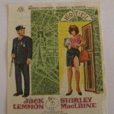 Cine: PROGRAMA DE CINE IRMA LA DULCE. Lote 194677441