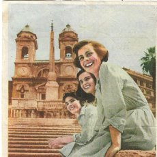 Cine: PROGRAMA DE CINE - TRES ENAMORADAS - LUCIA BOSÉ, COSETTA GRECO - PRINCIPAL CINEMA (MÁLAGA) - 1952.. Lote 194864052