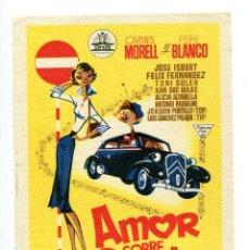 Cine: AMOR SOBRE RUEDAS, CON JOSÉ ISBERT.. Lote 194879027