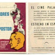 Cine: AMORES DE UN IMPOSTOR, CON GEORGE SANDERS.. Lote 194879368