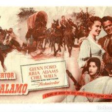 Cine: EL DESERTOR DE EL ÁLAMO, CON GLENN FORD.. Lote 194896451
