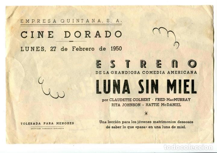 Cine: LUNA SIN MIEL, CON CLAUDETTE COLBERT. - Foto 2 - 194896906