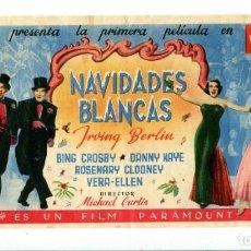Cine: NAVIDADES BLANCAS, CON BING CROSBY.. Lote 194899146