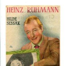 Cine: EL ESTUDIANTE NOVATO, CON HEINZ RUHMANN.. Lote 194899396