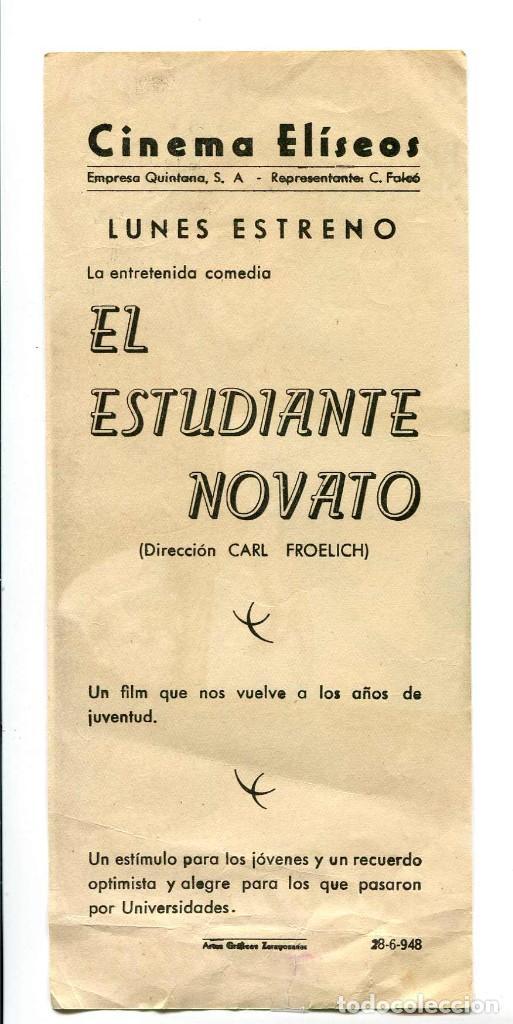Cine: EL ESTUDIANTE NOVATO, CON HEINZ RUHMANN. - Foto 2 - 194899396