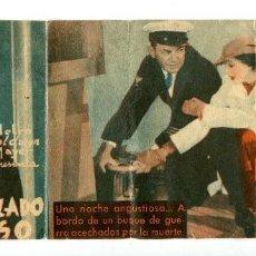 Cine: EL ACORAZADO MISTERIOSO, CON ROBERT TAYLOR.. Lote 194900048