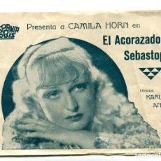 Cine: EL ACORAZADO SEBASTOPOL, CON CAMILA HORN.. Lote 194903072
