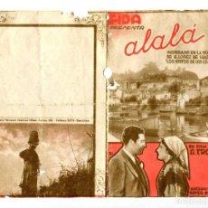 Cine: ALALÁ, CON ANTOÑITA COLOMÉ.. Lote 194903465