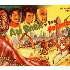 Cine: ALÍ BABÁ Y LOS 40 LADRONES, CON MARÍA MONTEZ.. Lote 194903761