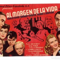 Cine: AL MARGEN DE LA VIDA, CON CHARLES BOYER.. Lote 194904408