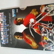 Cine: AMERICAN CHOPPER - 3 DVD LO MEJOR DE LA PRIMERA 1 TEMPORADA CASTELLANO ENGLISH DISCOVERY CHANNEL . Lote 194964486