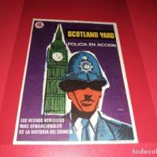 Cine: SCOTLAND YARD. PUBLICIDAD AL DORSO. AÑO 1930.. Lote 194971841