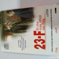 Cine: 23-F EL DIA MAS LARGO DEL REY 2 X DVD SERIE TV COMPLETA LLUIS HOMAR SILVIA QUER. Lote 194975993
