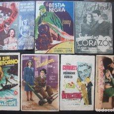 Cine: UBEDA, 7 FOLLETOS DE CINES DE ESTA CIUDAD. Lote 194982801