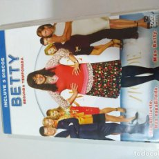 Cine: BETTY LA FEA UGLY BETTY TEMPORADA 2 COMPLETA - 5 DVD ESPAÑOL ENGLISH ITALIANO 5 DVD. Lote 194993185