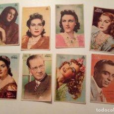 Cine: 8 PROGRAMAS FIRMADOS ORIGINALES. Lote 195058410