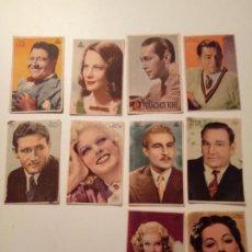 Cine: LOTE DE 10 PROGRAMAS ORIGINALES. Lote 195058701