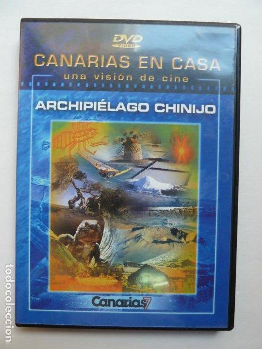 CANARIAS EN CASA. ARCHIPIÉLAGO CHINIJO. CANARIAS 7 (Cine - Folletos de Mano - Documentales)