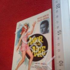 Cine: TUBAL AMOR EN EL AIRE PROGRAMA DE MANO SIN PUBLICIDAD B49. Lote 195136145
