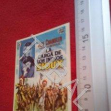 Cine: TUBAL LA CARGA DE LOS INDIOS SIOUX PROGRAMA DE MANO SIN PUBLICIDAD B49. Lote 195136253