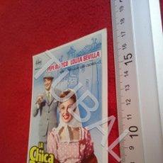 Cine: TUBAL LA CHICA DE BARRIO PROGRAMA DE MANO CINE ROXY B49. Lote 195137347