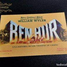 Cine: BEN-HUR - CINE SARREAL 1963 TARRAGONA. Lote 289340543